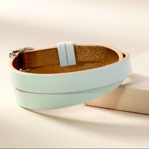 Double Leather Band